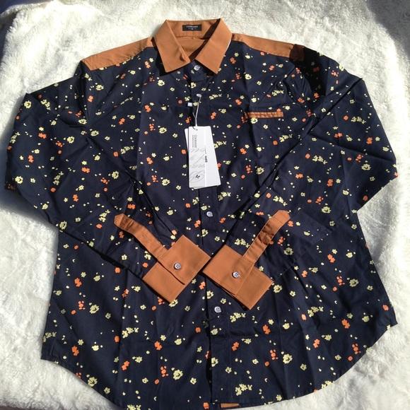 35bd886e6a0e 🆕Coofandy Mens Medium long sleeve Shirt~Halloween